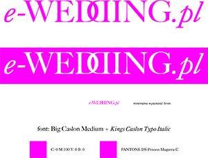 logotyp_e-wedding_rozowy